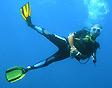 Stéphane Engel underwater, PADI DM #638145